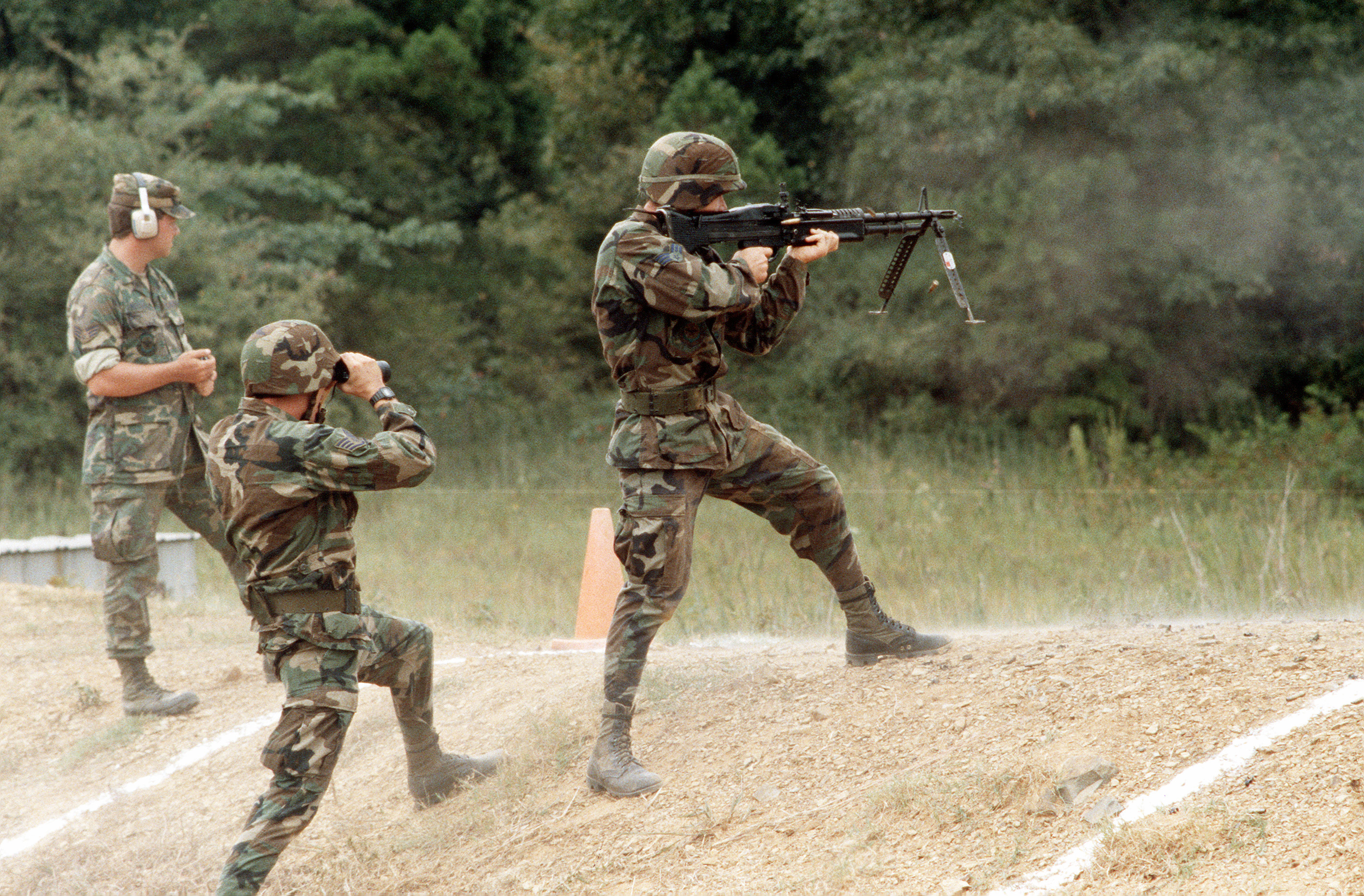 M240 being used like an ASSAULT RIFLE