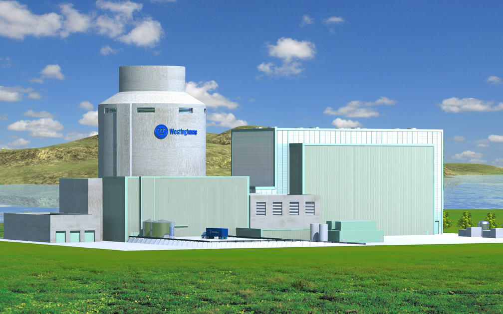 General Electric's Westinghouse 1200 MW Pressurised Water Nuclear Reactor that India is buying in large numbers