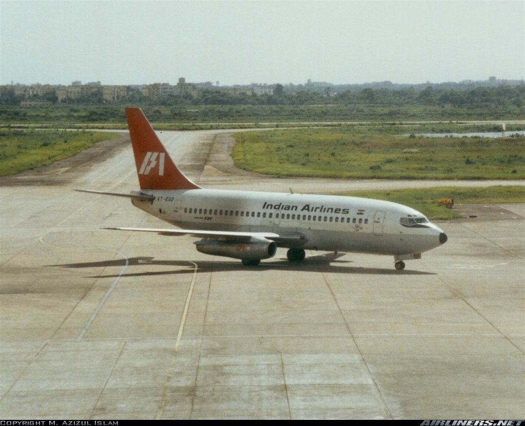 Boeing 737-200 medium jetliner This model was introduced in the early 70's in Indian Airlines Corporation. My Dad flew this plane, as a Co-Pilot, for quite a large percentage of his logged-flight hours with IAC !
