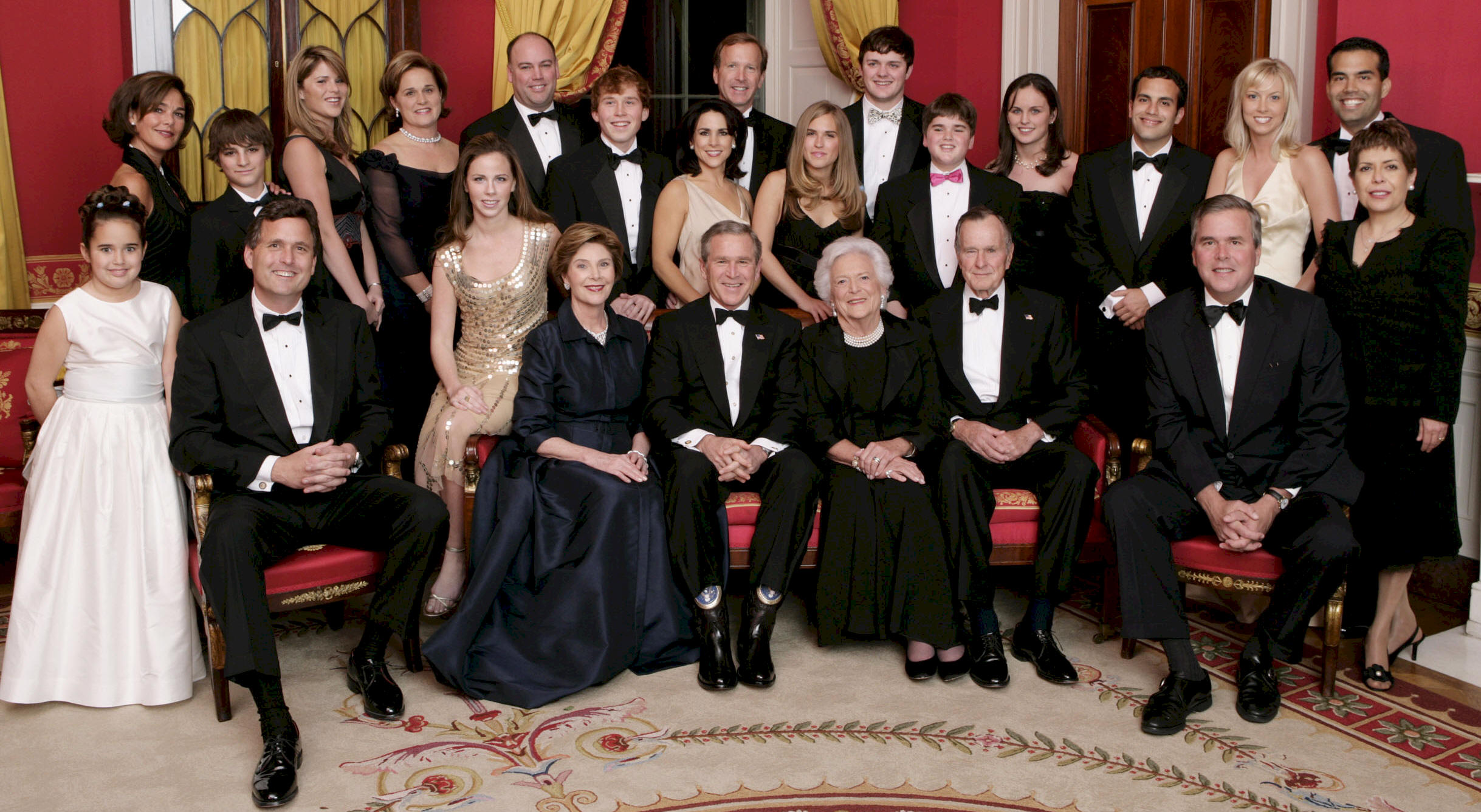The Bush Family ( New Portrait )