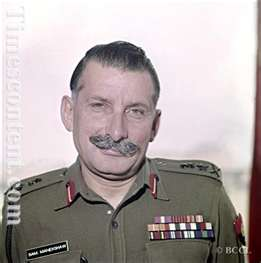 Field Marshal Sam Bahudur Manekshaw (1969 - 1973)