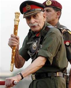 General Sam Bahudur Manekshaw at 96 just before his death