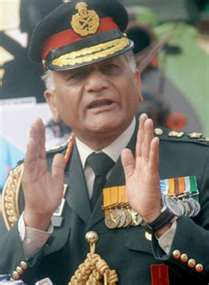 Former Indian Army Generals: General General Vijay Kumar Singh (2009 - 2012)