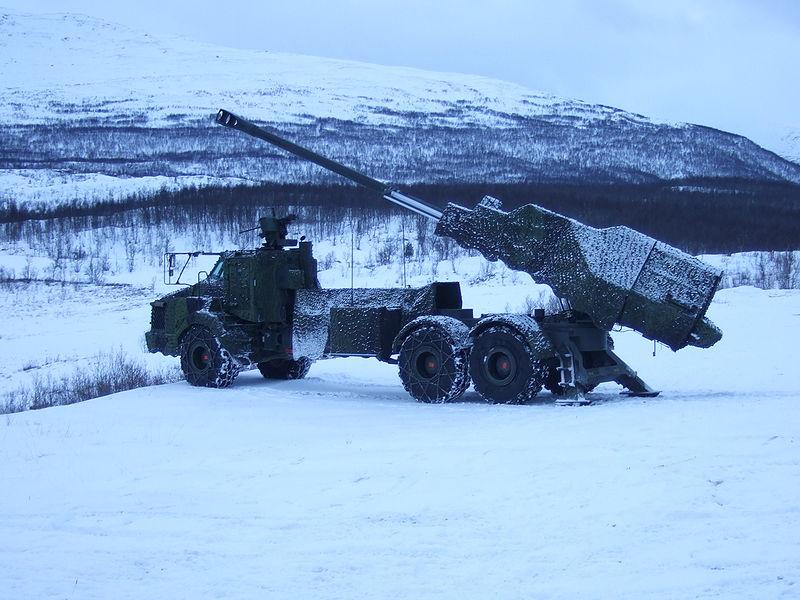 India's future WHEELED SELF PROPELLED ARTILLERY, 'ARCHER-L52', 155MM_52Caliber, BAE SYSTEM (formerly BOFORS_of_Sweden). India should re-negotiate with BOFORS or BAE to license manufacture these great guns in India. The FH77B is battle tested in ARCTIC conditions and is best suited for the HIMALAYAS amonst all artillery guns !!