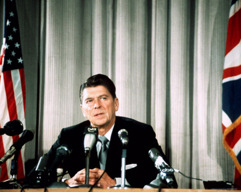Former Late President Ronald Reagan (1/20/1981 – 1/20/1989)