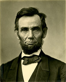 Late President Abraham Lincoln