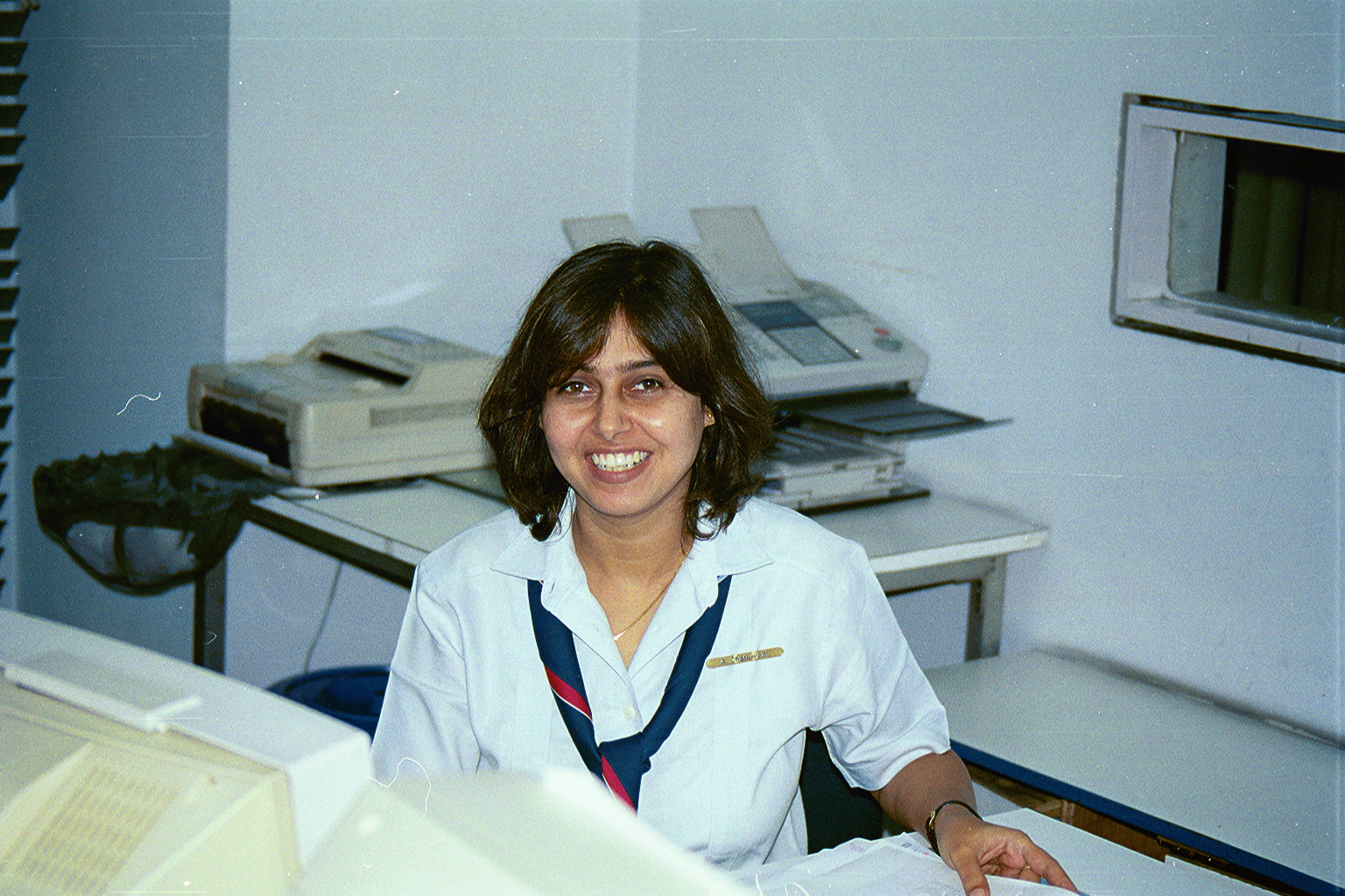 My youngest sister, ( MY LATE FATHERS MOST FAVOURITE OF KIDS ) Miss Anushila Chaturvedi (b.1966); Marketing Representative, KLM Airlines; Calcutta.