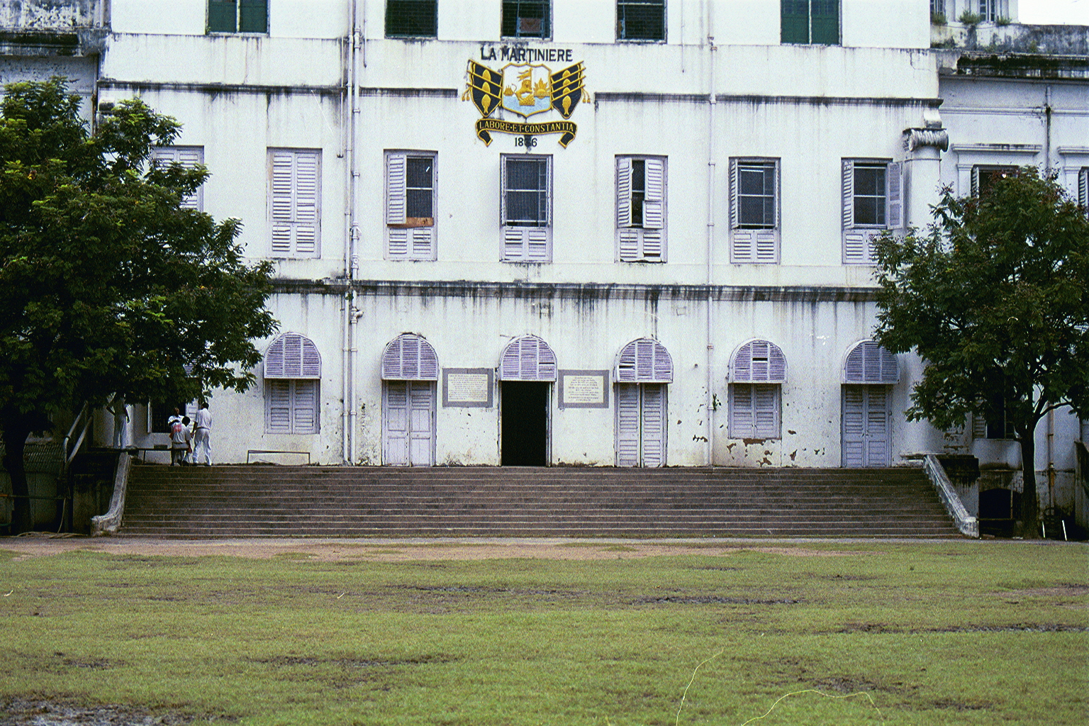 'La-Martiniere School' was founded in 1837 by Major-General CLAUDE MARTIN.  'La-Martiniere' has 3 campuses. (1) La-Martiniere, Calcutta, India; (2) La-Martiniere College, Lucknow, India; & La-Martiniere College, Lyons, France;