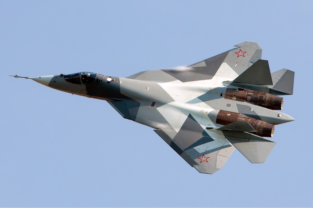 Sukhoi PAK FA Stealth Multirole Fighter