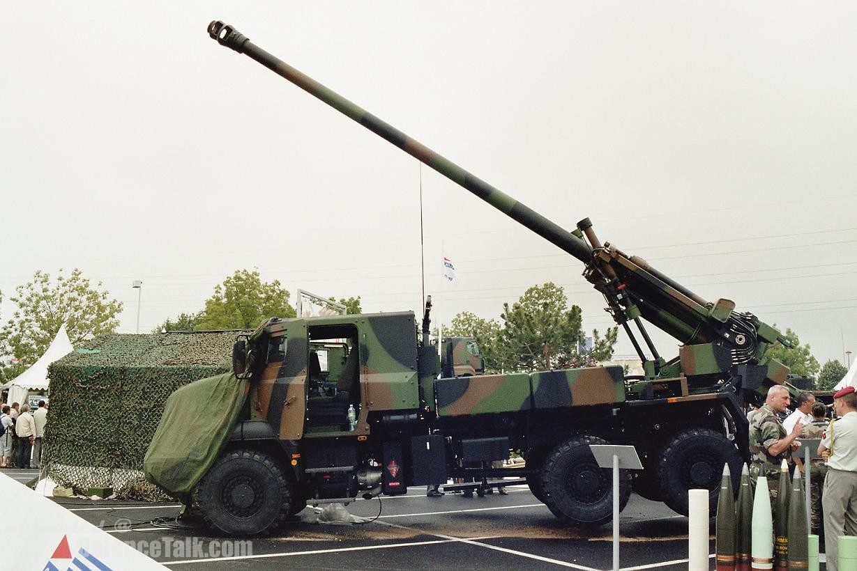 The French CAESAR� 155mm SPG