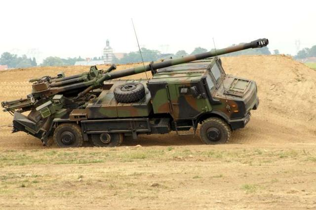 'FH77B' 155mm 52Caliber;