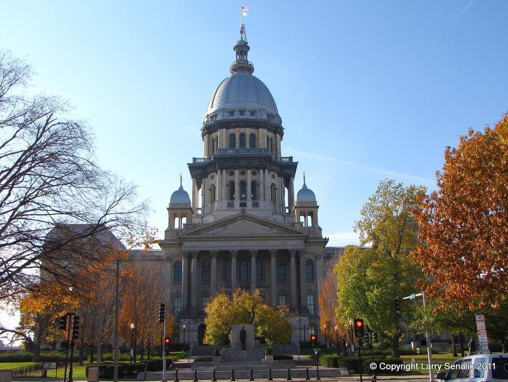 The Illinois State Capitol Building; Springfield, Illinois