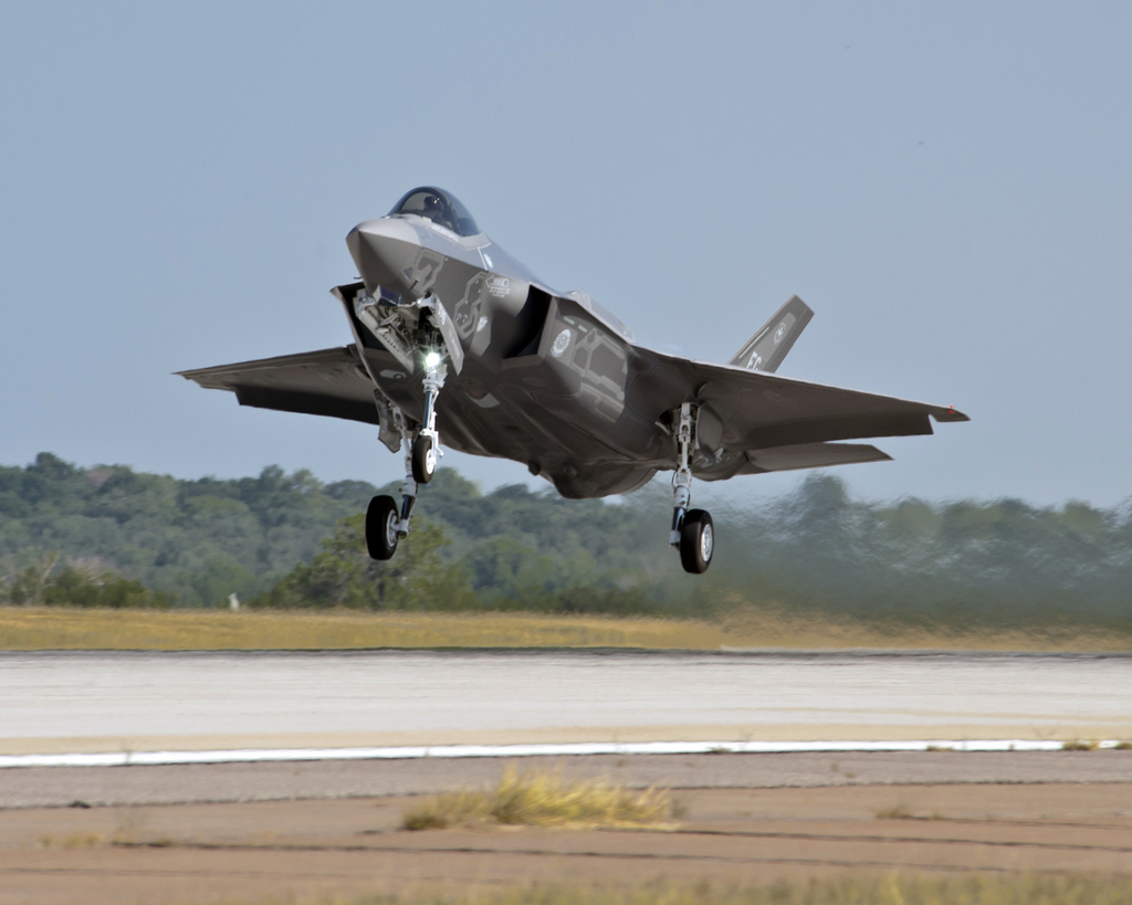 Boeings F-35A Stealth Fighter
