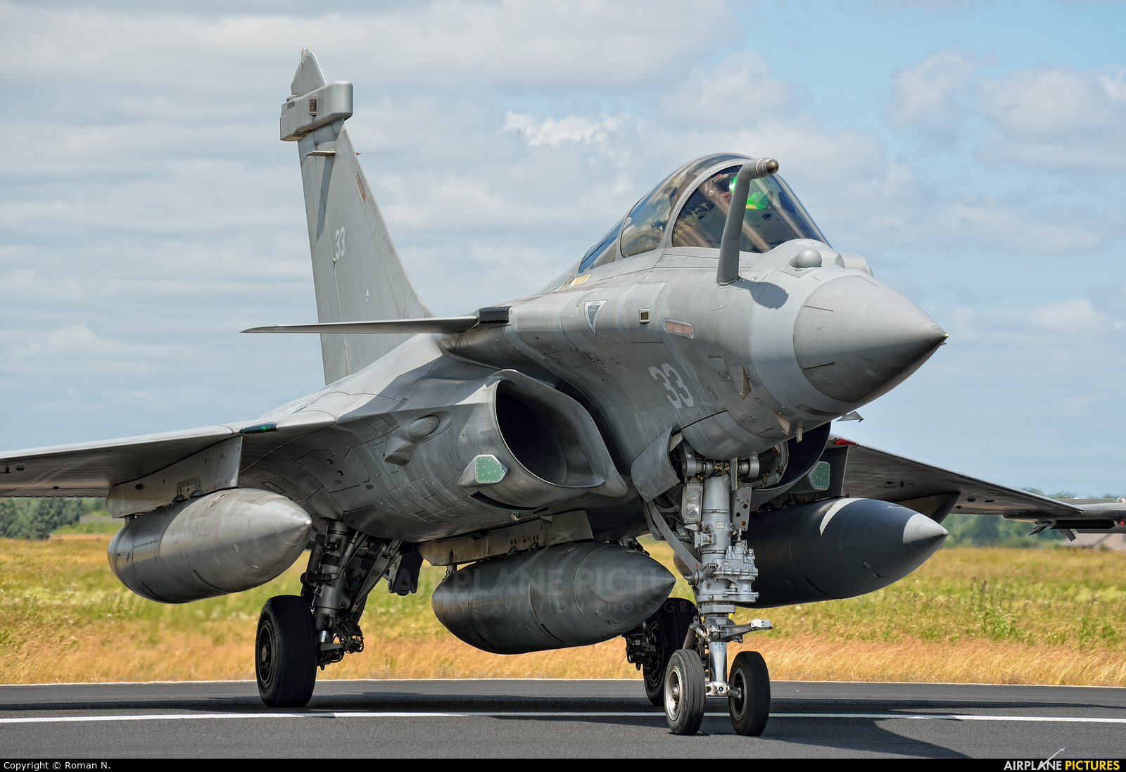 Dassualt's RAFALE-C Onmirole Strike Jet Fighter