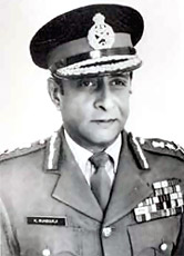 General Krishnaswamy Sundarji (1986 - 1989);