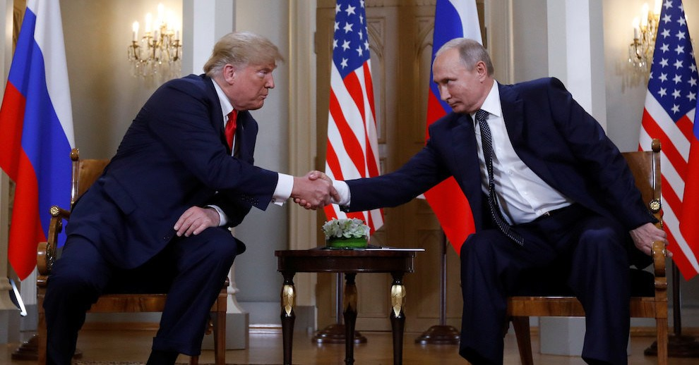 President Donald Trump and President Vladimir Putin