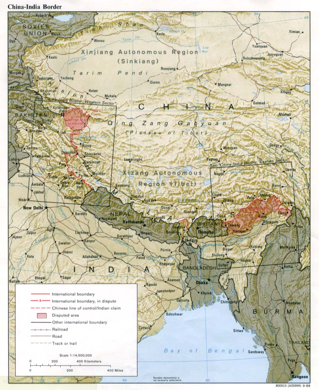 'India-China Border' 