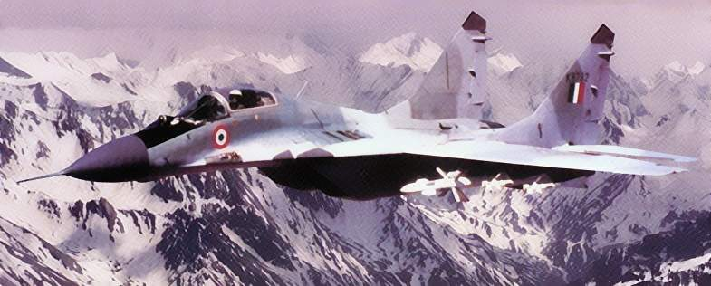 Mig29_on patrol_in_the_Himalayas