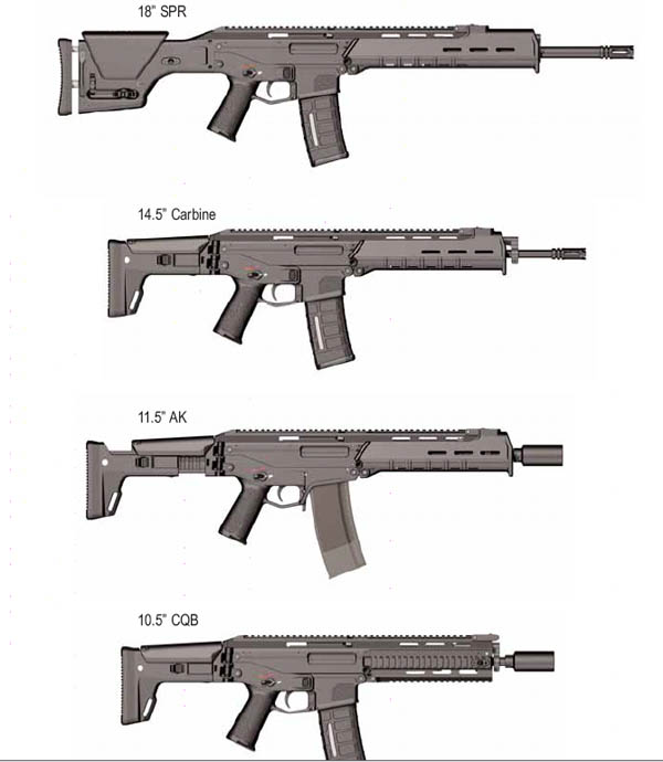 .22 Caliber 5.56x45mm BATTLE-RIFLE