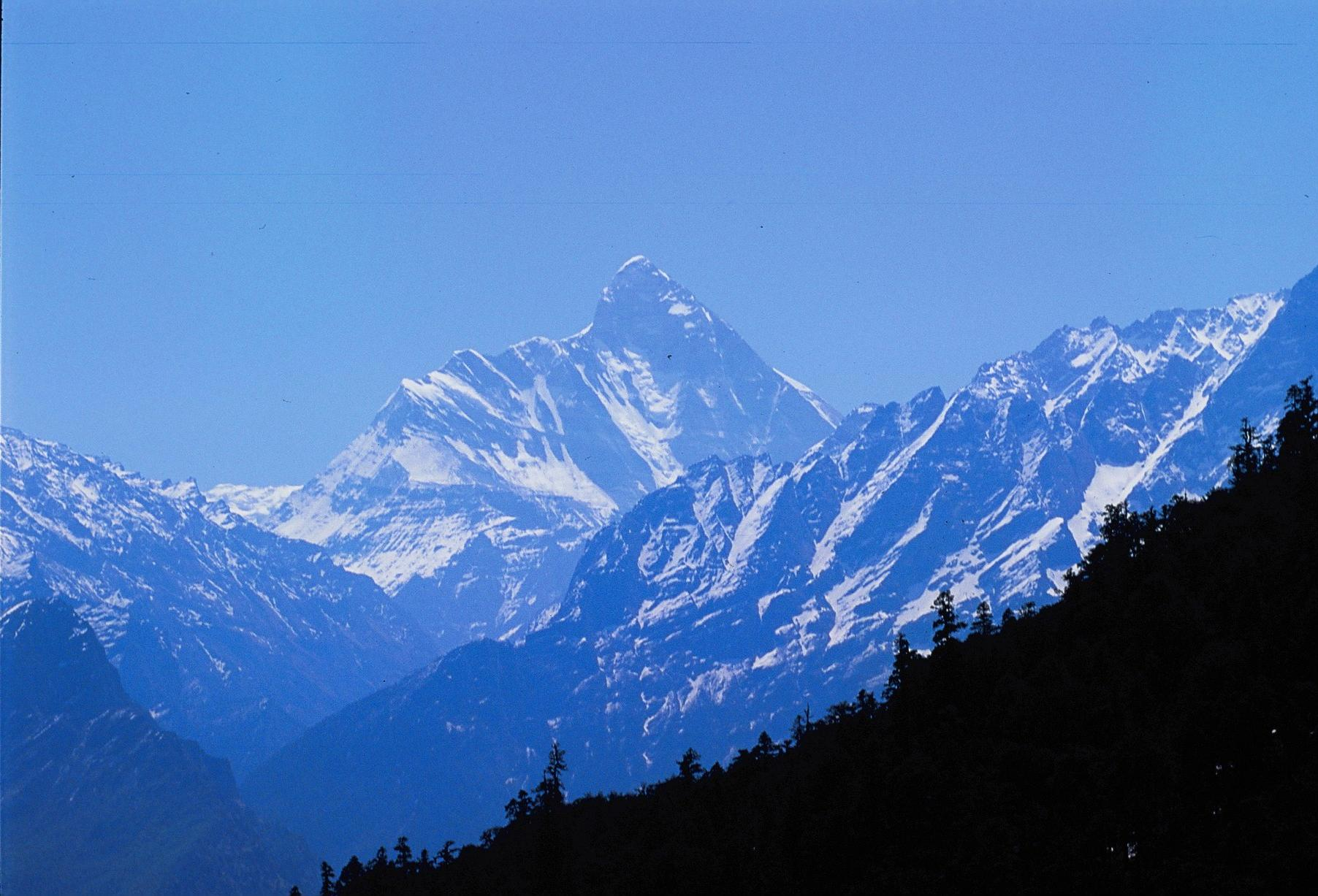Mount 'Nanda Devi', INDIA; 26,054 ft,