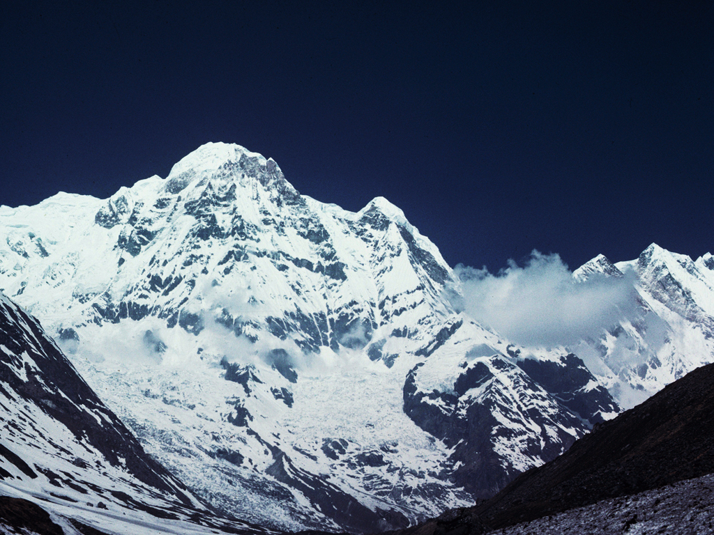 Mount 'Annapurna', 26,041 feet, 'Hindu Kingdom of NEPAL'
