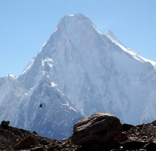 Mount 'Saser Kangri', 25172 feet; 14th highest mountain; 'Karakorum Range', INDIA.