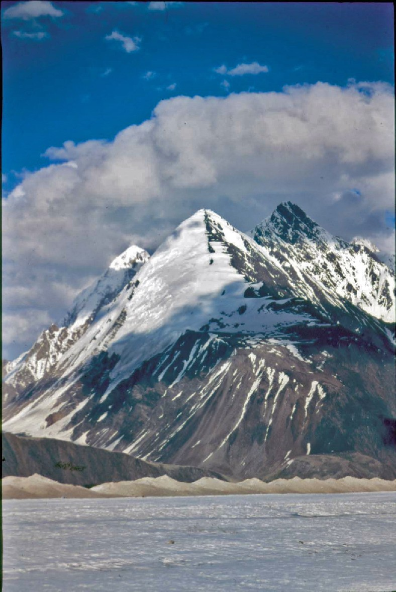 Mount 'Kamet', 25,456 feet;  Uttar Pradesh; INDIA..