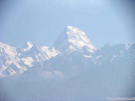 Mount 'Kamet', 25,456 feet;  Uttar Pradesh; INDIA.
