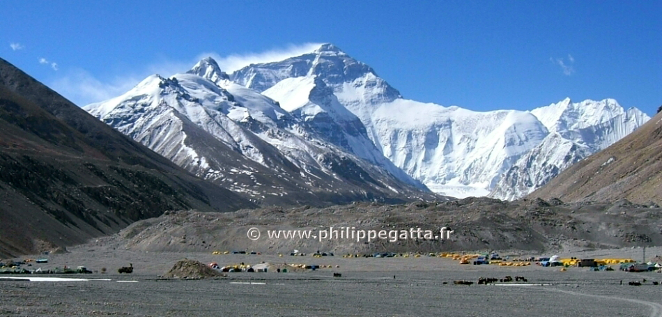 Mount 'Everest', 29,037 ft; Highest Peak in the Himalayas, 'Hindu Kingdom of NEPAL'.