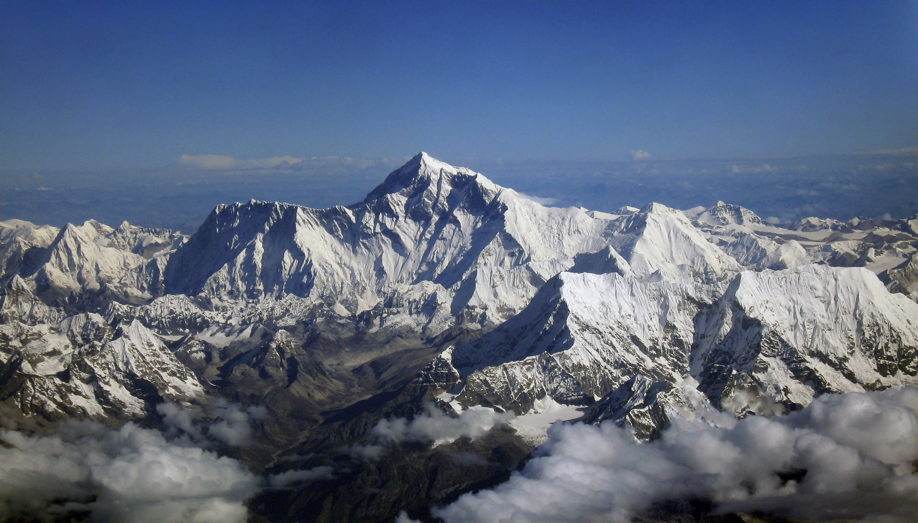 Mount 'Everest', from the Air