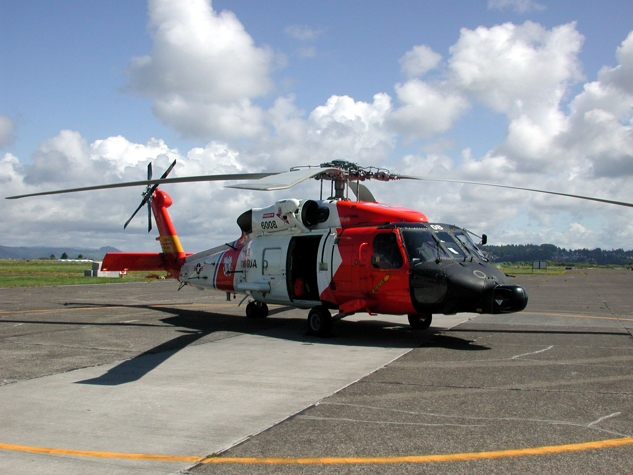 HH60 'JayHawk' Search & Rescue & Law Enforcement