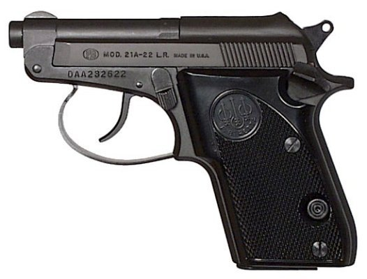 Beretta Bobcat' 21A .22mm Safety Pistol (Semi-Automatic)