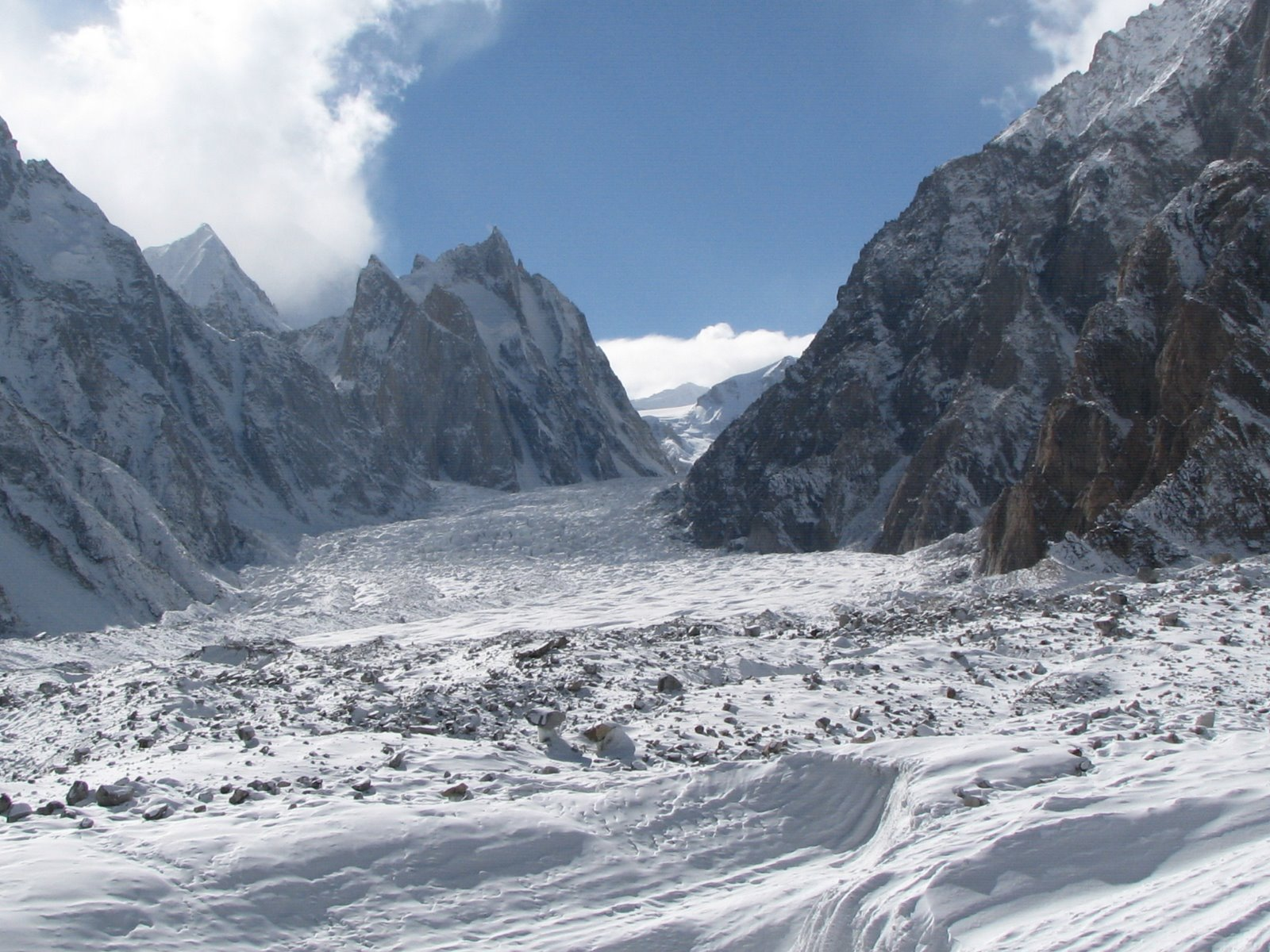 KARAKORAM_RANGE_SIACHEN_GLACIER_(SUMMER)_KASHMIR_GREATER_HIMALAYAS_India_Siankiang_(China)_Border