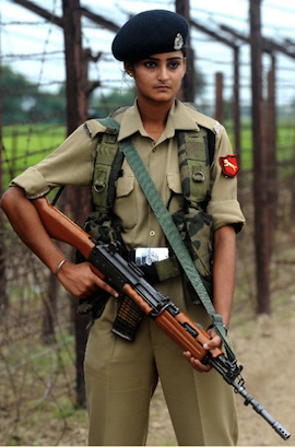 Indian 'Border Security Force' Police personel