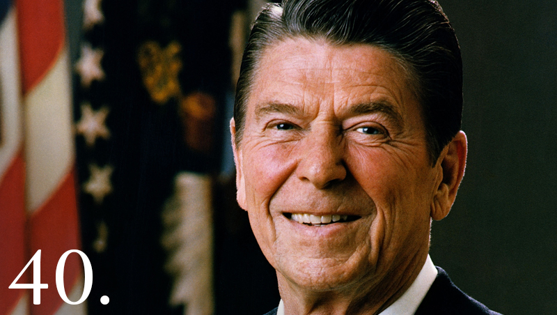 PresidentRonald Reagan