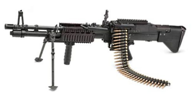 .30 Caliber 7.62x51mm MMG