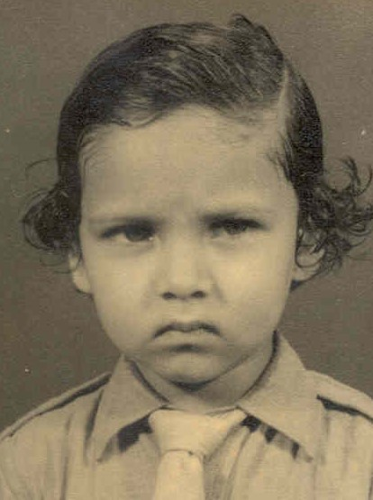 Myself - 5 years old in Kindergarden Elementary School