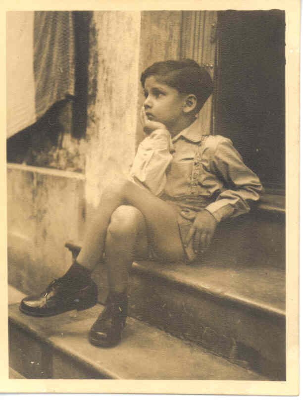 Click to enlarge - 13 years old - Myself alone in solitude, in grief over the death of my beloved Uncle. He used to look after me and we spent a considerable amount of time together