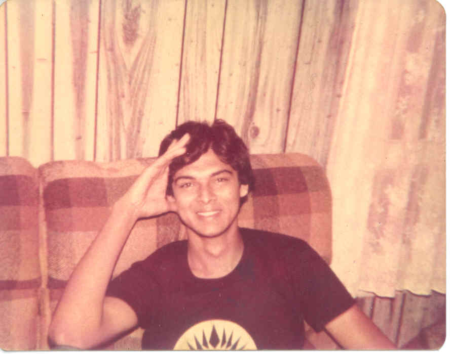 Click to enlarge - Me at 21 at Springfield College in Illinois in 1979