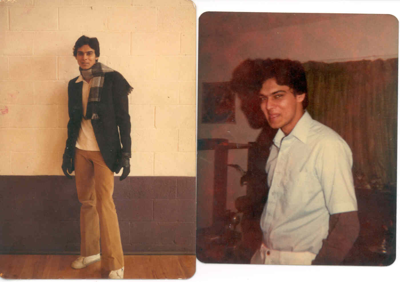 CLICK TO ENLARGE - Myself at Springfield College in Illinois (1980)