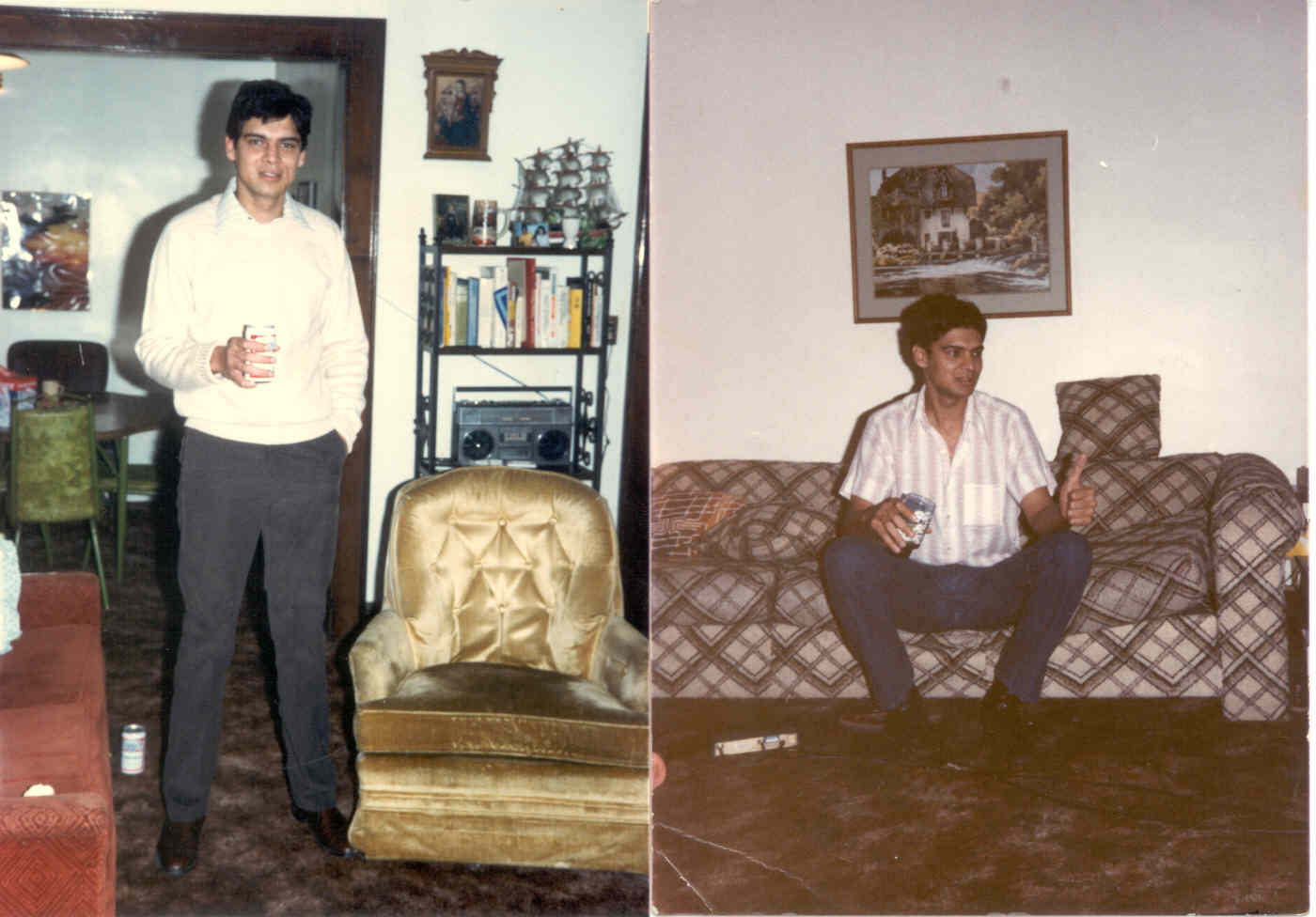 Click to enlarge - Myself at 27 yrs during senior year at the University of Illinois
