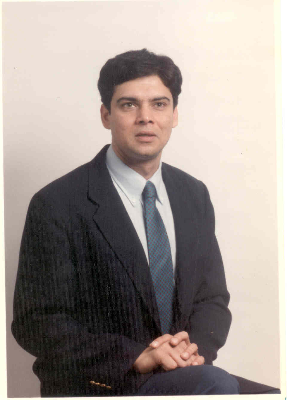 Myself at 35 years of age - Friendly, polite & honest Mr Anup in Springfield, Illinois - Then (1992)