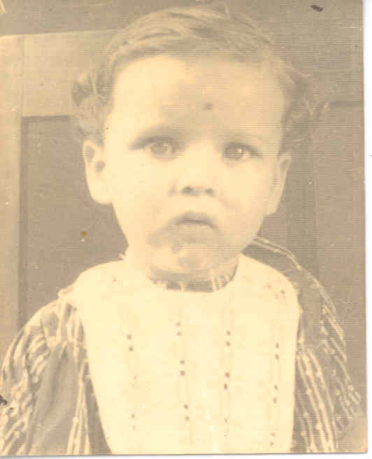 Click to Enlarge - Thats me as a 1 year old child