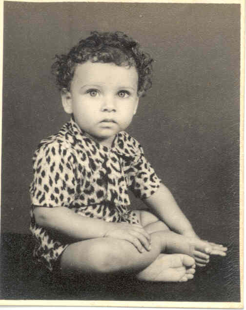 Click to enlarge - Myself - 2 years old